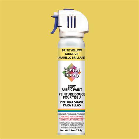 spray paint buy simply spray fabric paint brite yellow buy