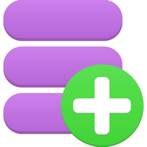 add a data add icon flatastic 2 iconset custom icon design