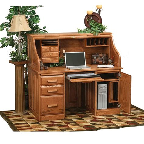 office desk for home use roll top computer desk