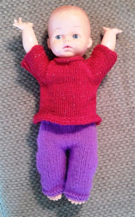 free 12 inch doll knitting patterns 17 best images about doll clothes on doll