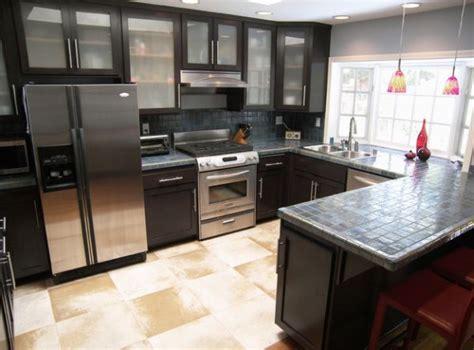 modern black kitchen cabinets sleek modern kitchen in black with gorgeous glass cabinets