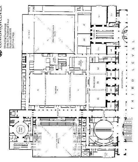 hynes convention center floor plan hynes convention center floor plan planners hynes