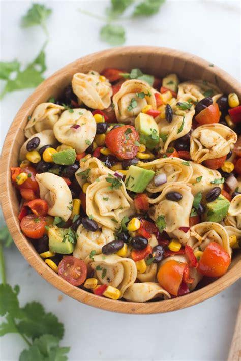tortellini pasta salad southwest tortellini pasta salad tastes better from
