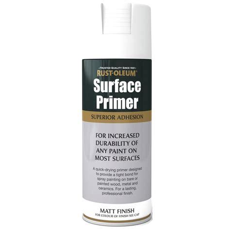 spray paint with primer rust oleum surface primer grey matt spray paint 400ml ebay