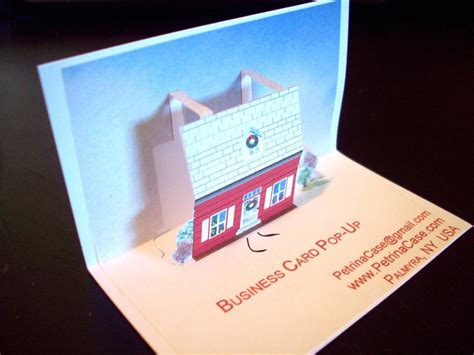 pop card pop up business cards