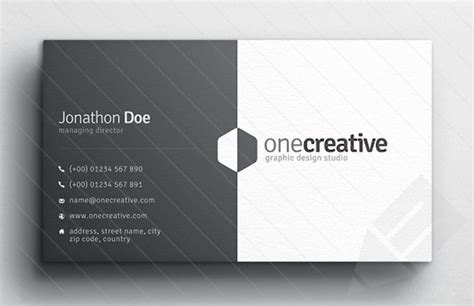 card ideas and templates business card design slim image