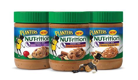 planters peanuts nutrition peanut butter is no longer plain it just got a makeover
