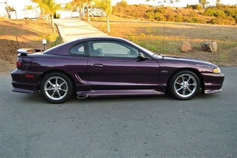 1997 Ford Mustang Gt by 1997 Ford Mustang Gt In El Cajon Ca 1 Owner Car