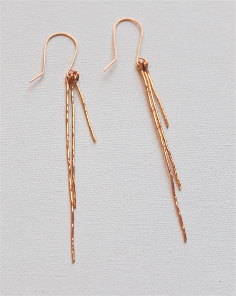 how to make hammered jewelry how to make hammered wire earrings emerging creatively