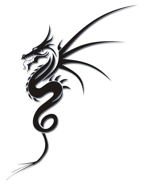 best 25 tribal dragon tattoos ideas on pinterest dragon