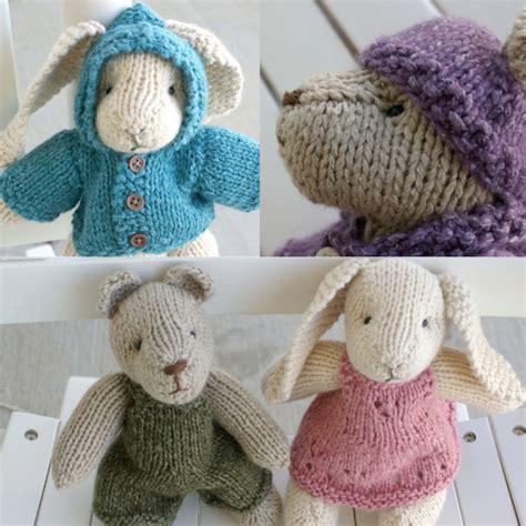 knit bunny pattern bunny rabbit knitting patterns in the loop knitting