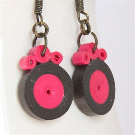 quilled jewelry tutorials step by step tutorial for paper quilled circle earrings honey s quilling
