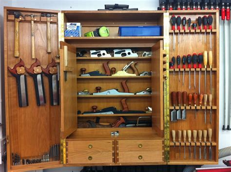 woodworking tool storage plans toolporn fusteria tool cabinets