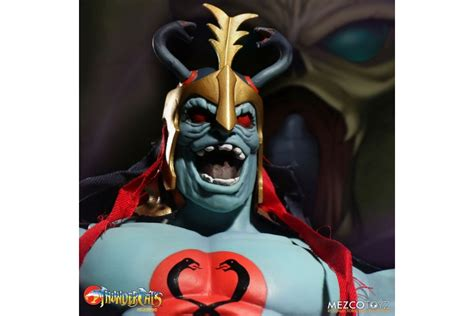 glow in the thunder thundercats mumm ra mega scale figure glow in the