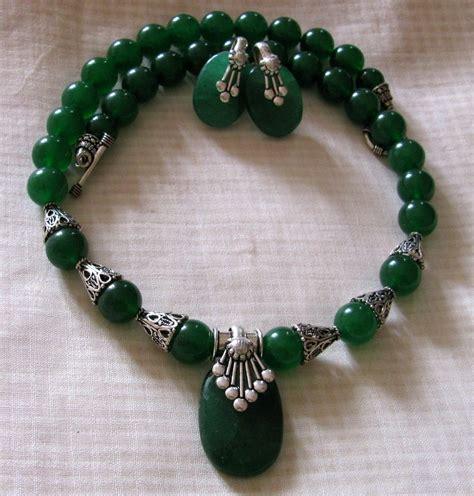 semi precious stones jewelry green quartz semi precious necklace shopping