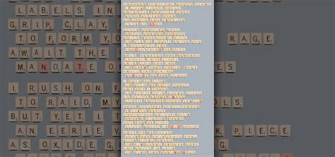 scrabble challenge official possible scrabble challenge creating poetry from all the