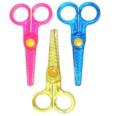 1 X Patterned Paper Craft Scissors Pair Coloured Mini