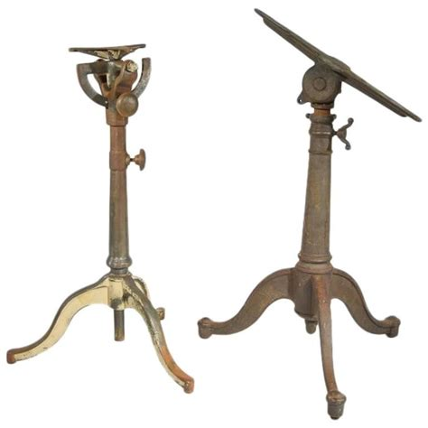 cast iron drafting table pair of cast iron articulating drafting table bases for