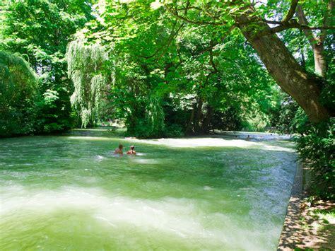 Englischer Garten München Nackerte by Eisbach Treiben So Geht S M 252 Nchen Reiseblog