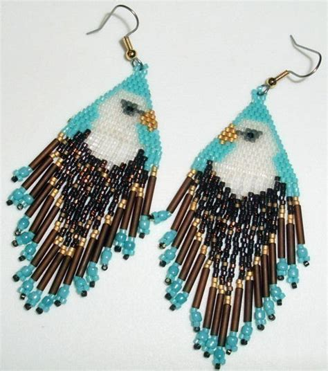 beaded earrings american items similar to american beaded earrings tribute