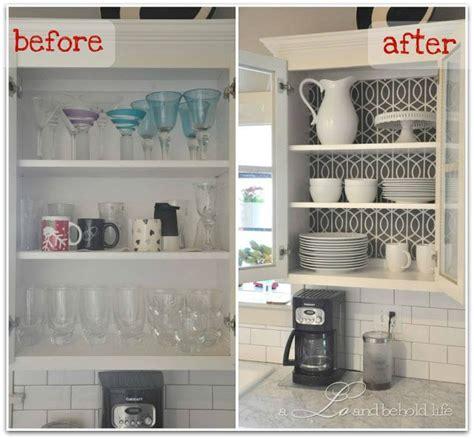 no door kitchen cabinets kitchen cabinet wallpapered and no doors for open look
