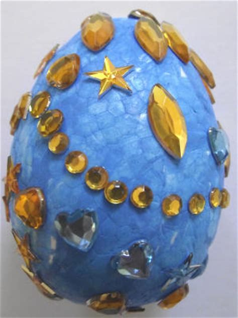 russian crafts for faberge eggs craft make your own gilded and jewelled
