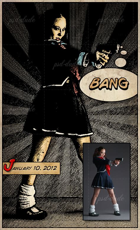 comic book picture effect photoshop effects comic book effect tutorial tutorial