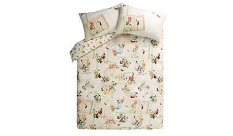pin up bedding george home twisted vintage pin up duvet set home