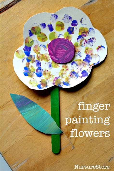 simple craft work for 25 best ideas about finger painting on finger