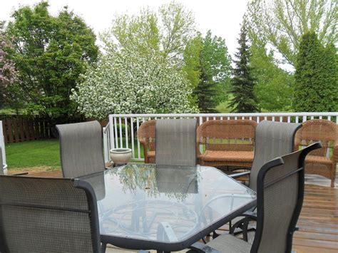 hexagon patio table glass patio hexagon table and six chairs east