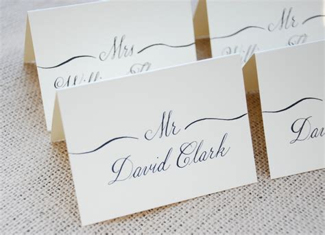 how to make place cards for wedding calligraphy for wedding name place cards cards