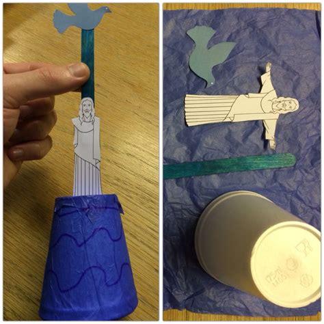 baptism crafts for to make the 25 best jesus baptism craft ideas on