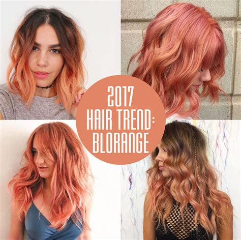 whats the trend for hair blorange hair colour at voodou hair salons in liverpool