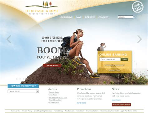 best website the definitive list of the best bank website designs