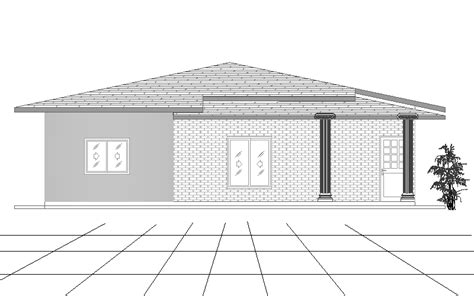 single story 4 bedroom house plans four bedroom single story house plan