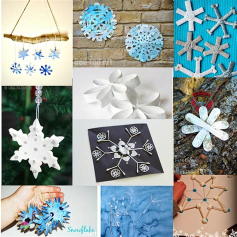 snowflake crafts for 40 snowflake crafts and activities for