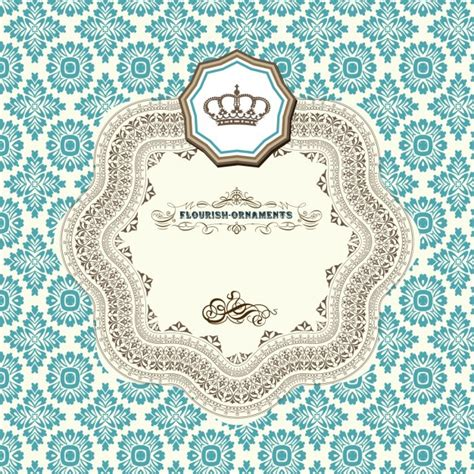 design a ornament flourish ornaments design vector free