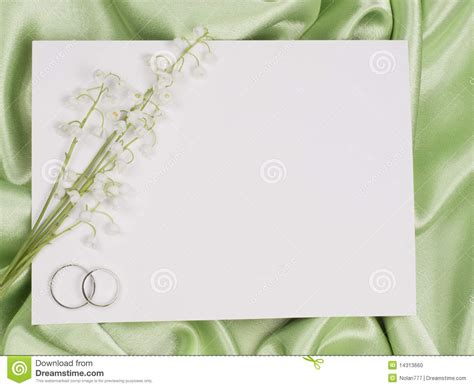 the valley card wedding rings card and of the valley stock photo