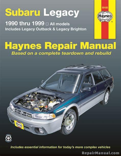 best car repair manuals 1995 subaru svx electronic throttle control subaru legacy 1990 1999 haynes automotive repair workshop manual h89100 ebay