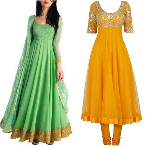 Best Umbrella Frock Designs For Asian Ladies Stylo Planet