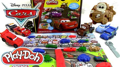 p 226 te 224 modeler disney cars 2 play doh flash mcqueen martin luigi guido grand prix