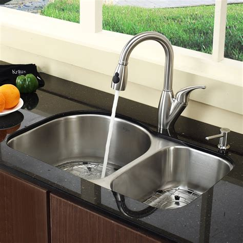 kitchen sinks and faucets undermount kitchen sink and faucet combo