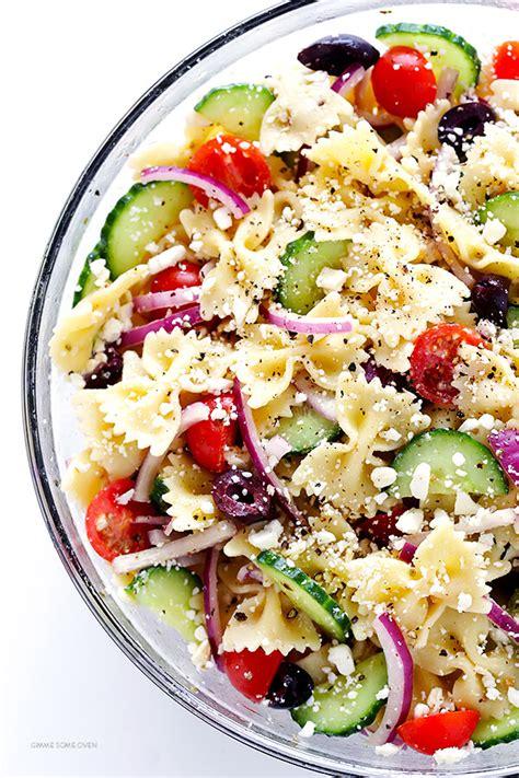 pasta salad recipe mediterranean pasta salad gimme some oven