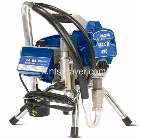 spray painting machine manufacturer 1600w motor power electric airless spray painting machine