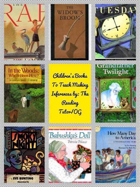 picture books for inferences mentor monday linky 2 3 14 inferences and a