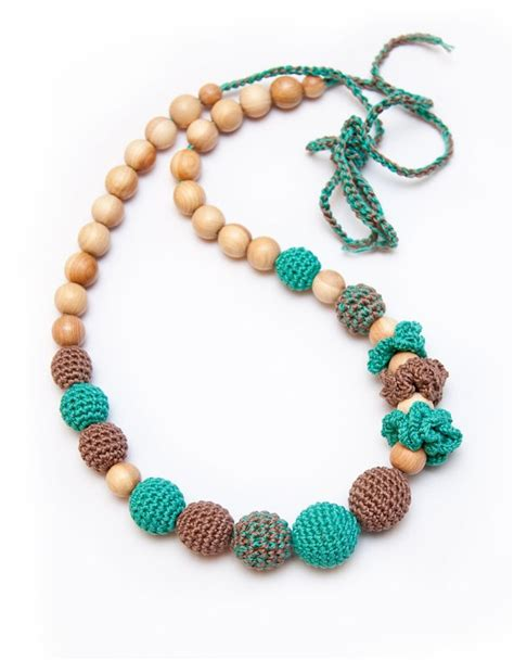 Teething Necklace Crochet Inspiration
