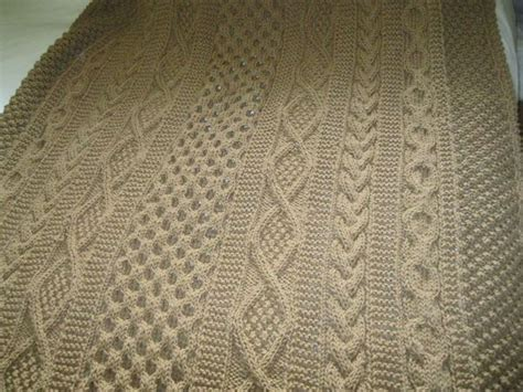 how to knit aran stitches aran afghan maxim pattern knitting 4 for the