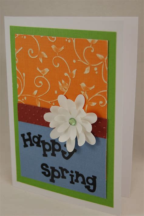 paper crafts greeting cards quot happy quot handmade greeting card