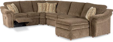 la z boy sectional sofa la z boy 4 reclining sectional sofa with las