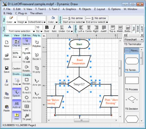 best program to draw 10 best free flowchart software for windows